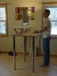 Jeff at His New Standing Desk